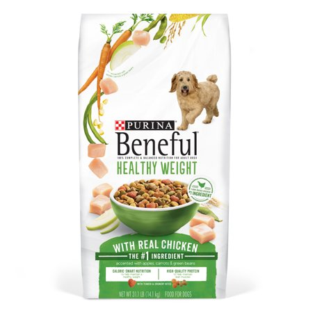 Purina Beneful Healthy Weight With Real Chicken Adult Dry Dog Food - 31.1 lb. (Fresh Healthy Food Snacker)