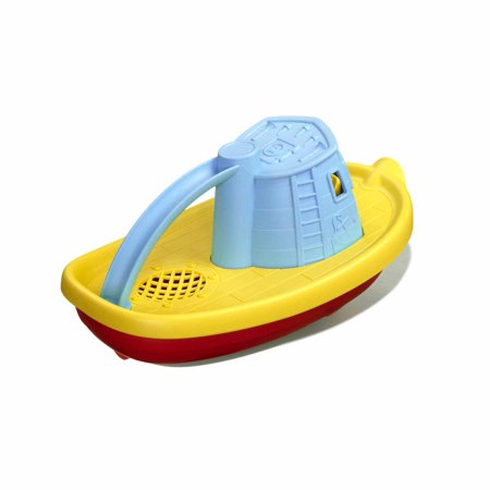 Best Green Toys Tug Boat Bath Toy, Blue Top deal