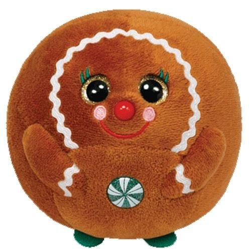 Ty Beanie Ballz Ginger 4.5` Plush Multi-Colored