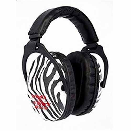 Pro Ears Standard Passive Hearing Protection ReVO, NRR 25, Zebra