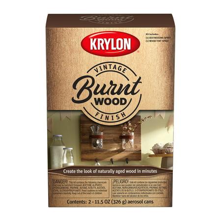 Krylon® Vintage Finish Burnt Wood Kit, 11.5-Oz