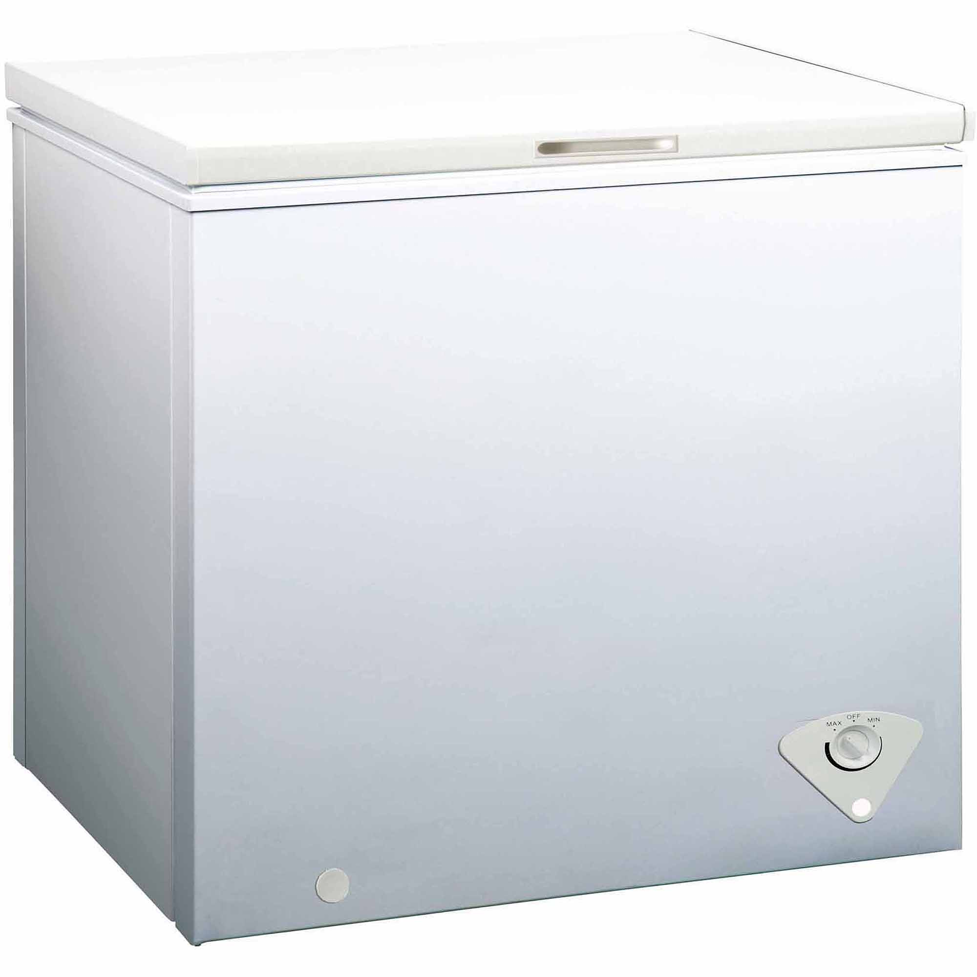 Equator-Midea 7.0 cu ft Chest Freezer with Removable storage basket, White