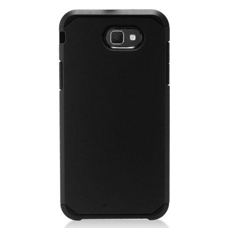 Samsung Galaxy J7 2017 phone case, Samsung Galaxy J7 Perx case, by Insten Rubberized Dual Layer Hybrid Hard PC/TPU Case Cover For Samsung Galaxy J7 ( 2017) ...