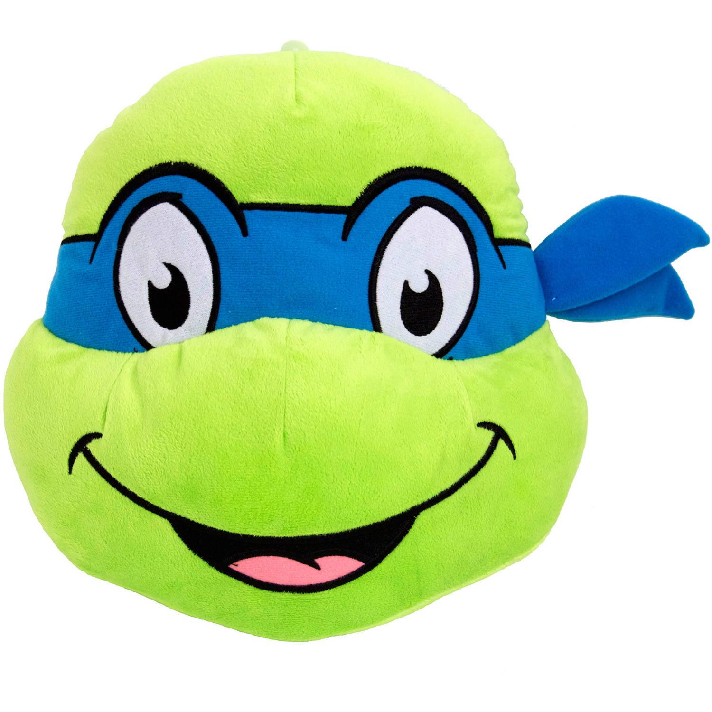 Teenage Mutant Ninja Turtles Leonardo Face Pillow