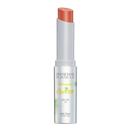 Physicians Formula Murumuru Butter Lip Cream SPF 15, Brazilian (Lip Contour Regenerating Cream)