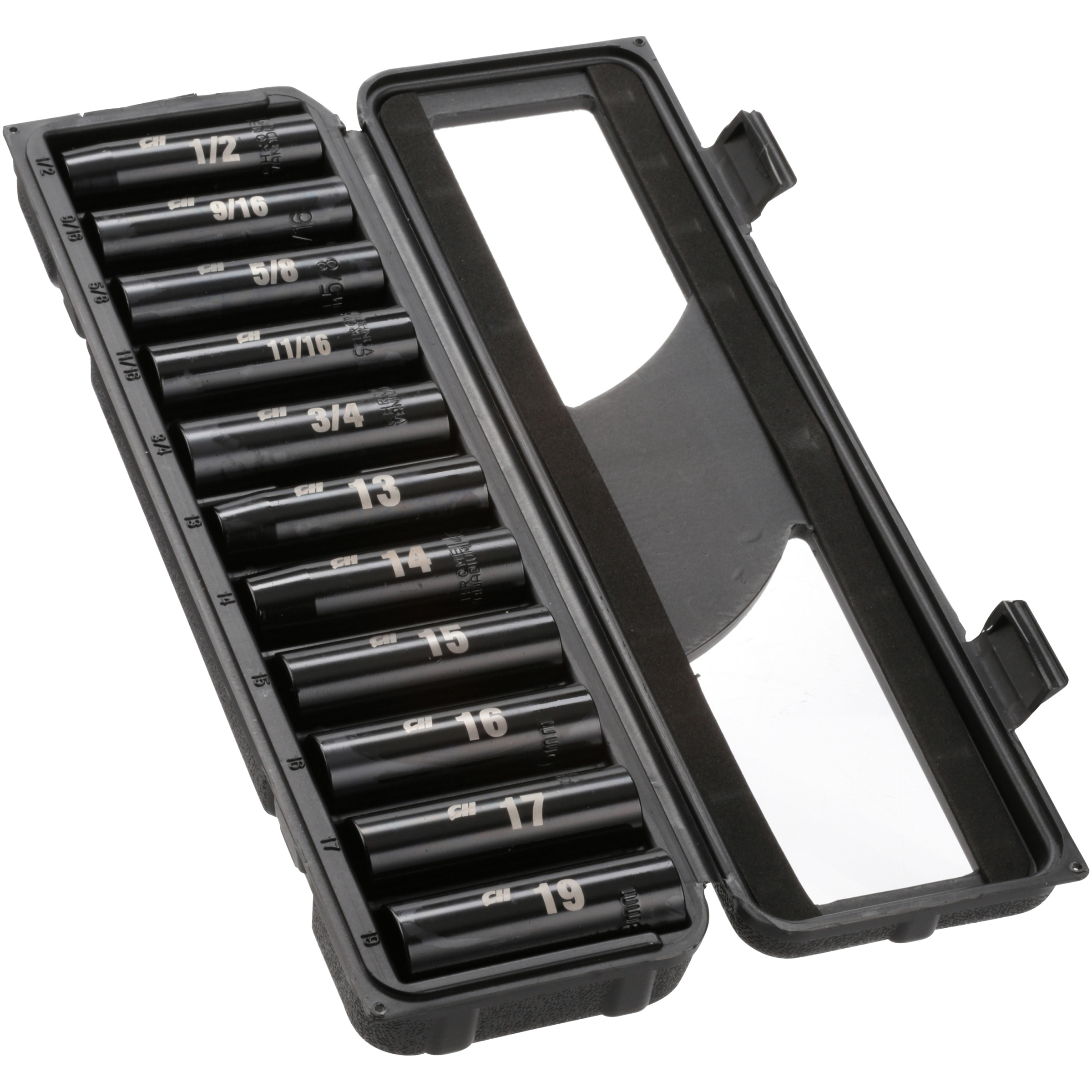 Campbell Hausfeld® Deep Drive Impact Socket Set 11 pc Pack