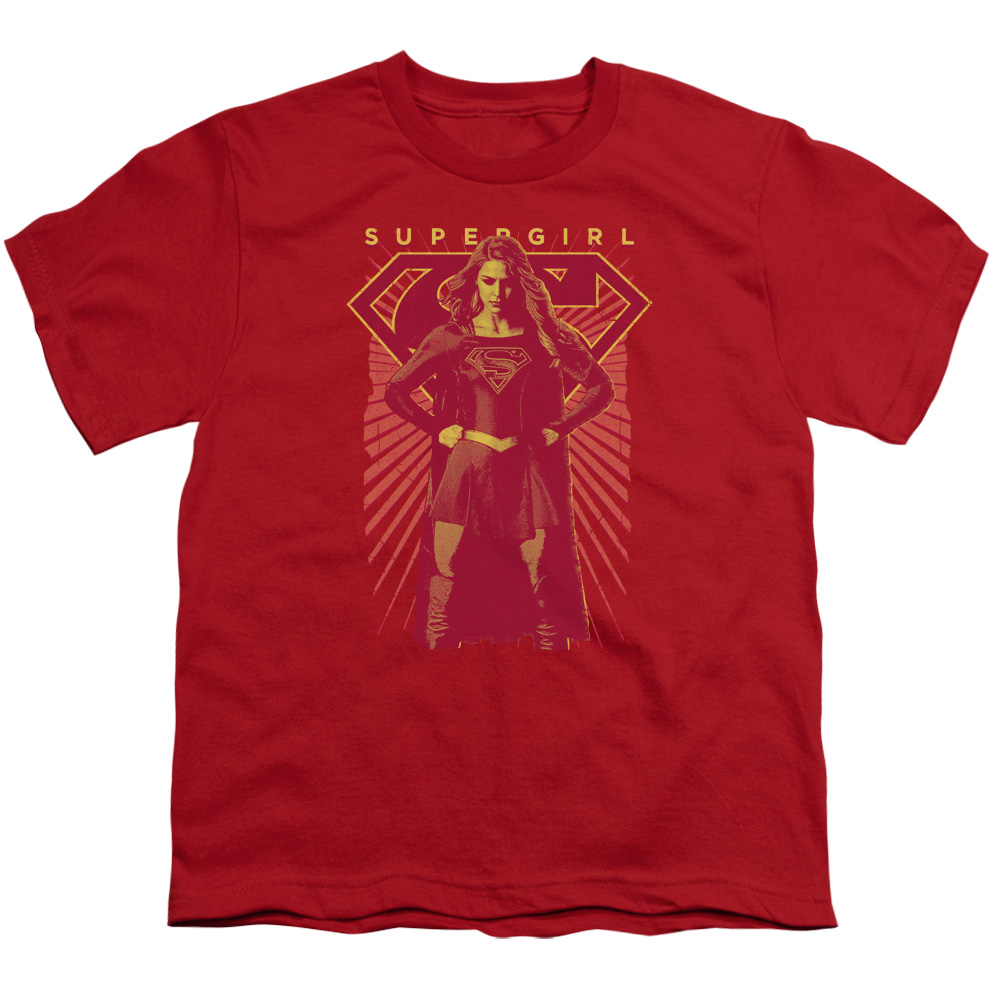 Supergirl Ready Set Big Boys Shirt
