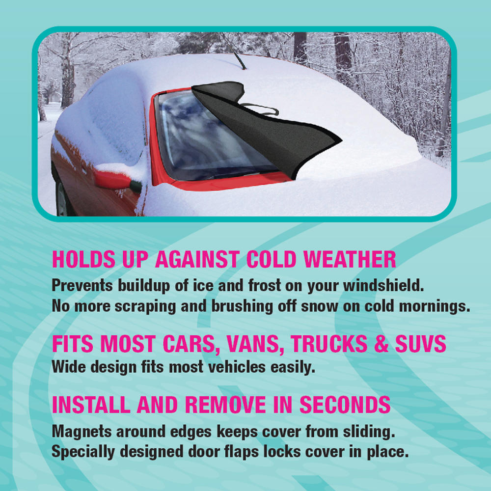 b52bbe0484b10a BDK Winter Defender - Car Windshield Cover for Ice and Snow ...
