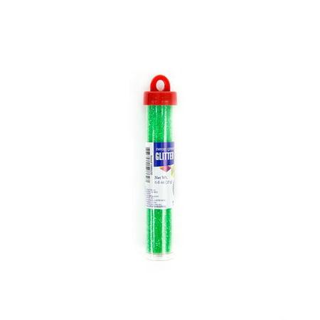 Horizon Group USA 17 Gram Neon Green Glitter Tube, 1 Each
