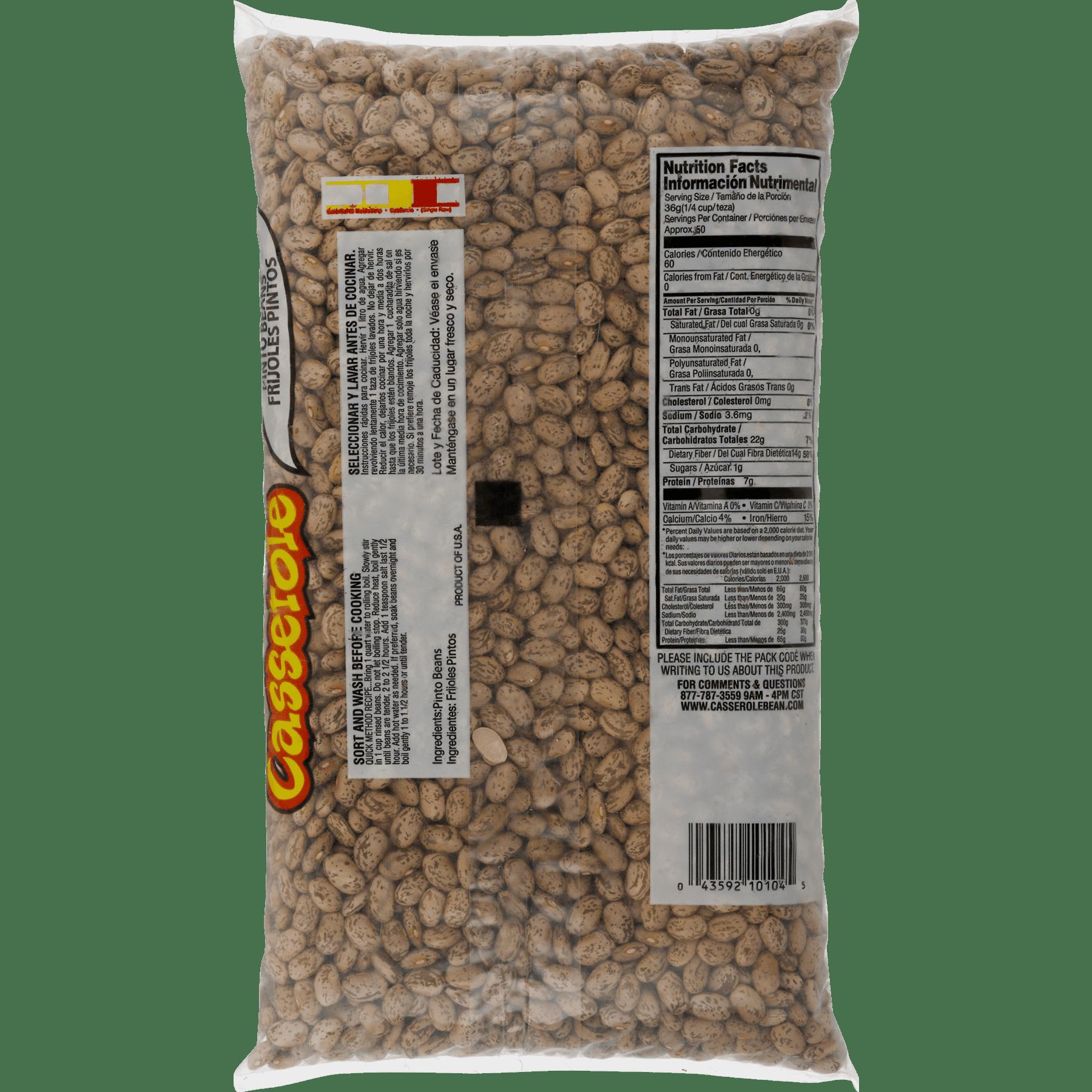 Casserole Pinto Beans, 64 oz - Walmart.com
