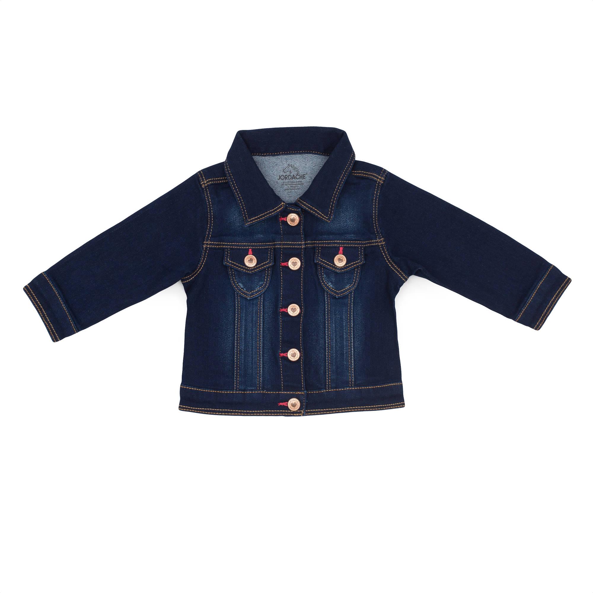 Jordache Newborn Baby Girl Denim Jacket