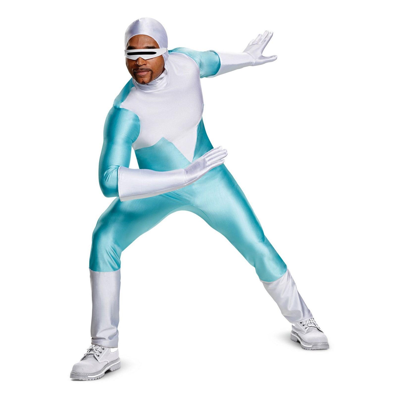 Incredibles 2 Frozone Deluxe Adult Halloween Costume