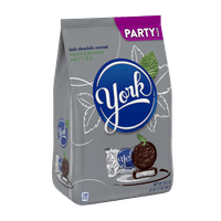 York, Peppermint Patties Dark Chocolate Candy Party Pack, 35.2 Oz.