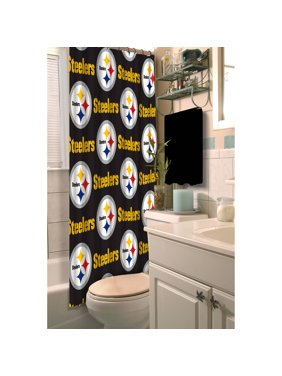 NFL Pittsburgh Steelers Shower Curtain, 1 Each