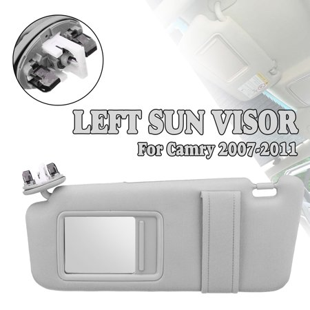 Sun Visor Day and Night Anti-glare Car Shade Sun Visor Shield Extension Extend Driving Window Sunshine for 2007-2011 Toyota Camry Driver Side With Sunroof and Light Left ()