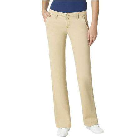 Aeropostale Juniors Solid Casual Chino Pants