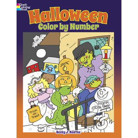 Halloween Color by Number](Halloween Pattern Activities)