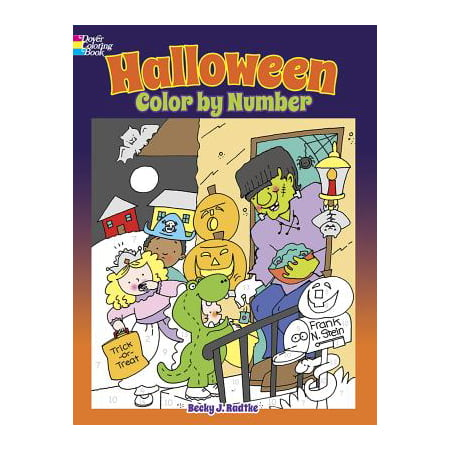 Halloween Color by Number - Arthur's Halloween Activities