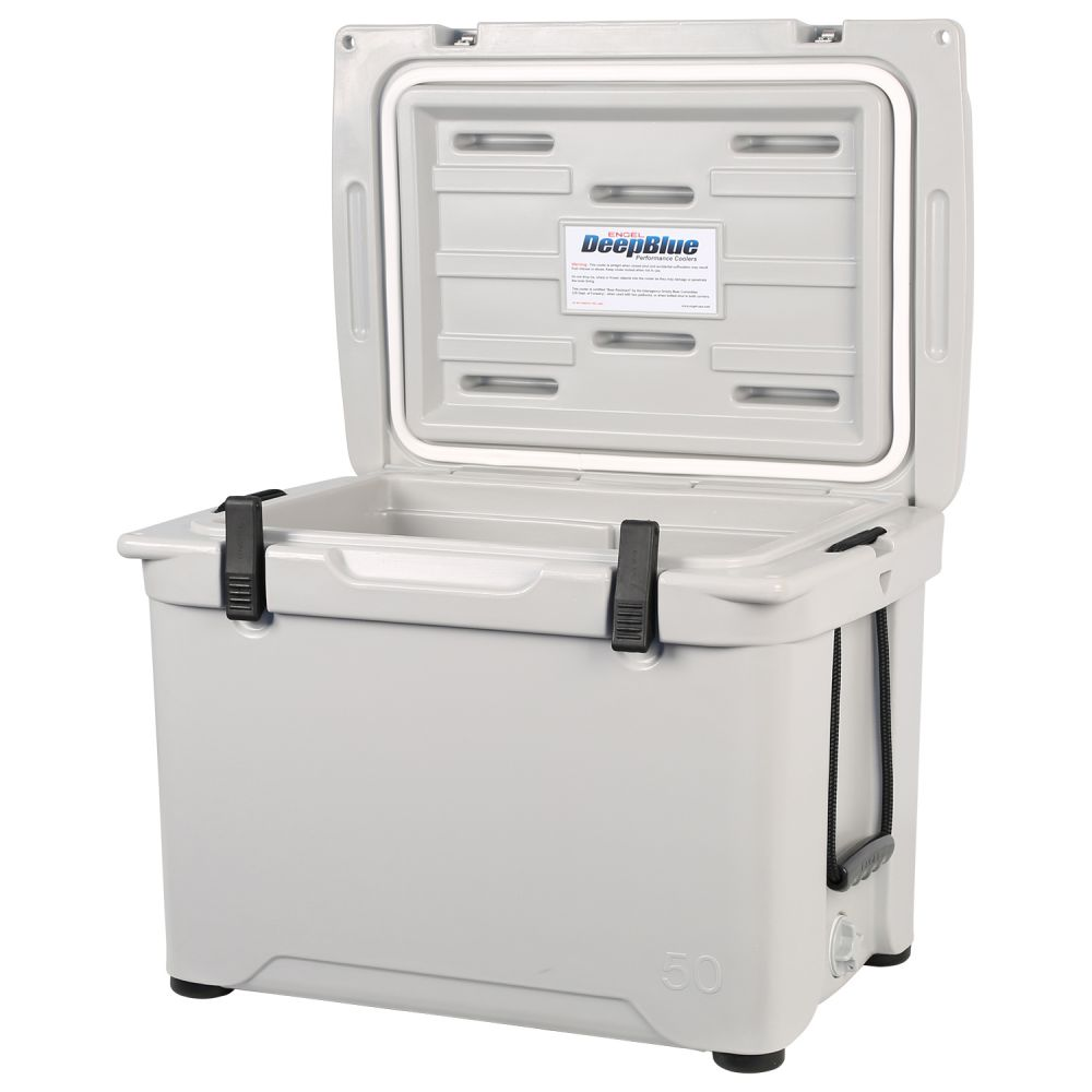 Engel Coolers 48 Quart 60 Can High Performance Roto Molded Ice Cooler, Gray