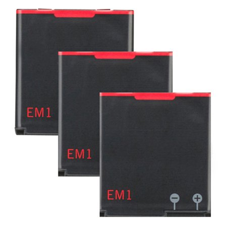 3x Replacement For Blackberry EM1 E-M1 Curve 9350 9360 9370 BAT-34413-003