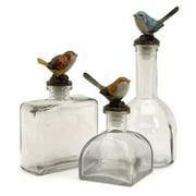Enthralling Unique Styled Maco Bird Bottles - Set of 3