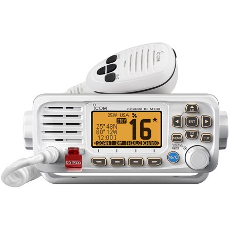 Icom M330G 41 VHF, Basic, Compact, w/GPS, White