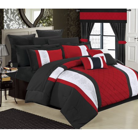 Chic Home 24 Piece Dylania Complete Bed In A Bag Comforter