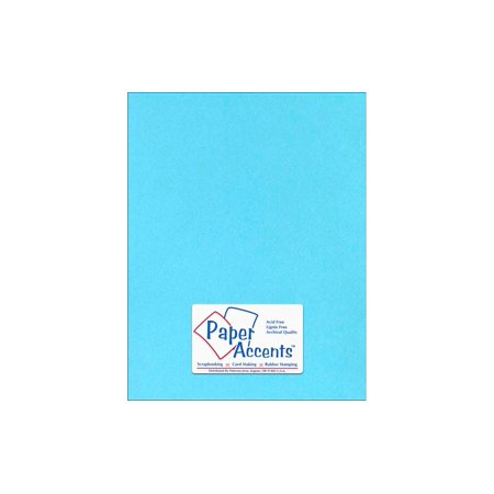- Lite Stock 8.5x11 60lb Text 25pc Light Blue