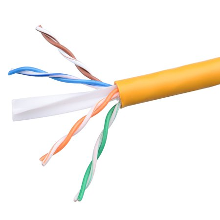 HD Enjoy In-Wall Rated (CM) Cat6 Ethernet Cable in Yellow 1000 Feet A Category 6 Ethernet cable is also referred to as a Cat6 network cable, Cat6 cable, Cat6 Ethernet cable, or Cat 6 data/LAN cable. A wired Cat 6 network is more reliable and secure than a wireless network for your internet connections