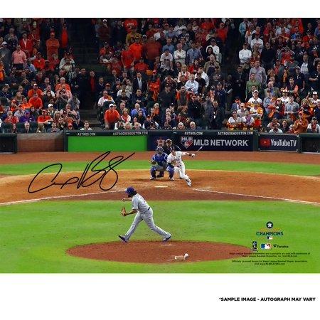 "Alex Bregman Houston Astros 2017 MLB World Series Champions Autographed 8"" x 10"" Photograph - Fanatics Authentic Certified"