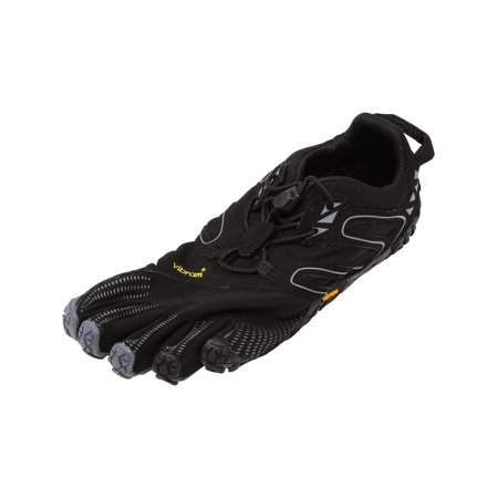 Vibram Five Fingers Women's V-Trail Black / Grey Ankle-High Trail Runner -