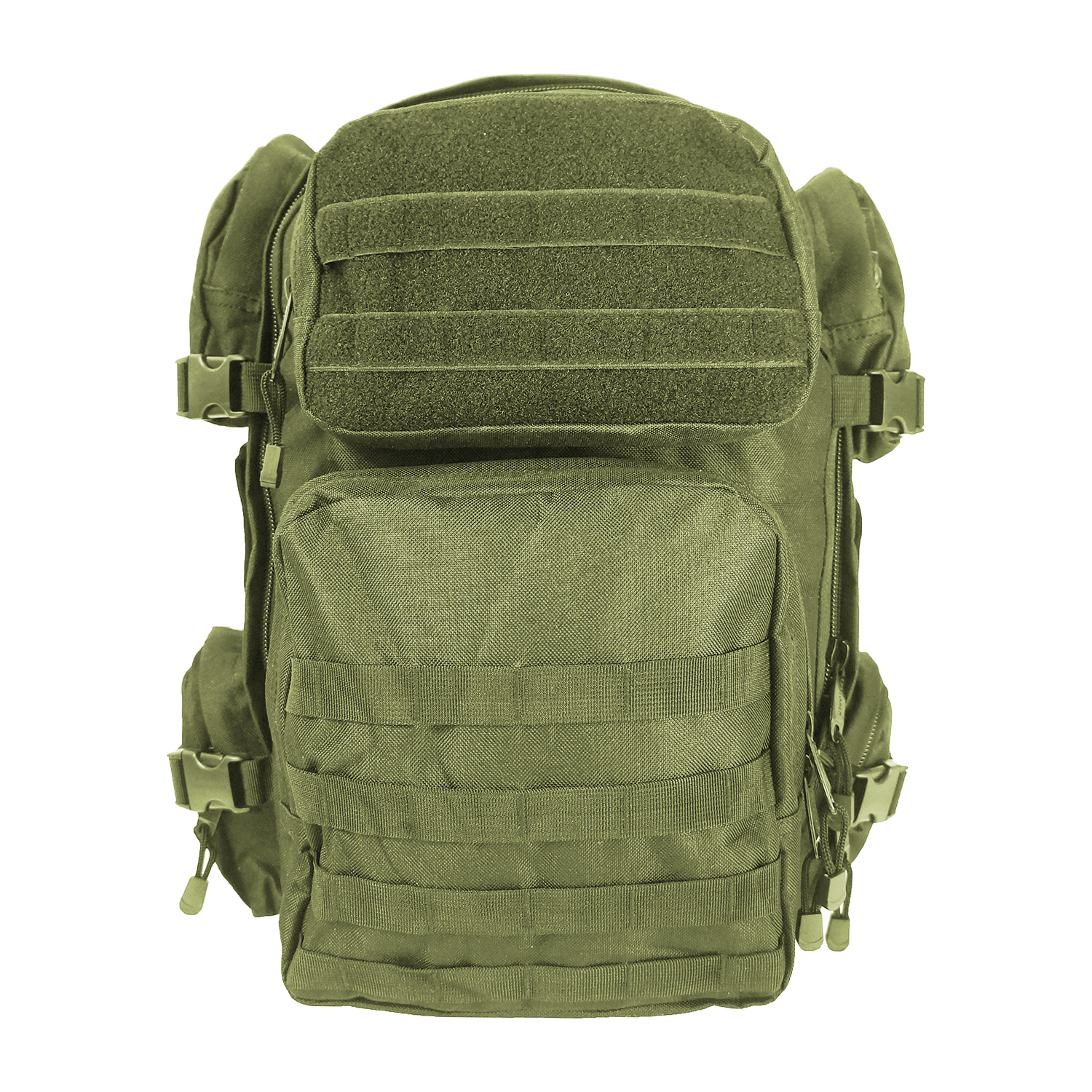 Every Day Carry Tactical Barrage Bag Day Pack Backpack with Molle Webbing - ODG