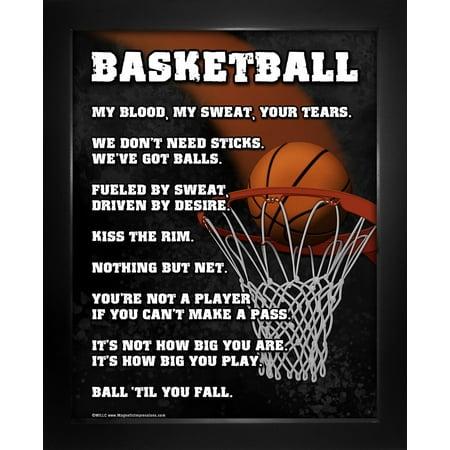Framed Basketball Player 8