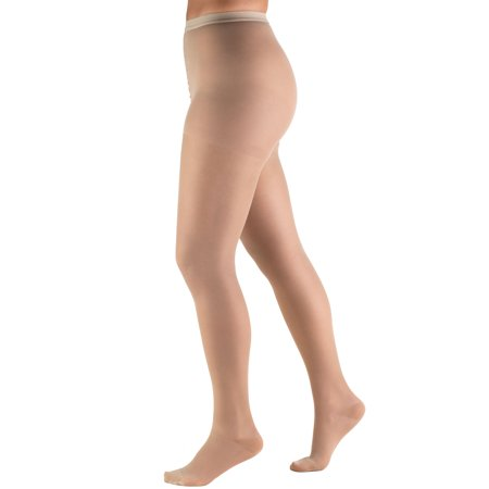 Hi Shear - Sheer Pantyhose: 15-20 mmHg, Nude, Medium