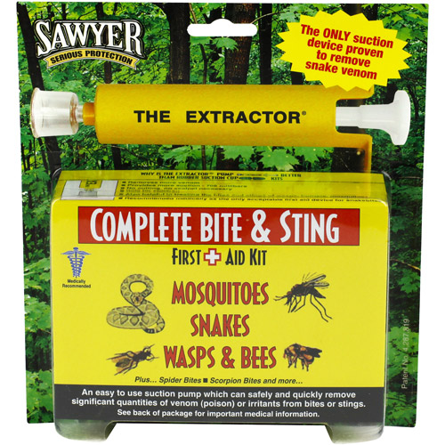 Sawyer Complete Bite & Sting First Aid Kit, 6 pc