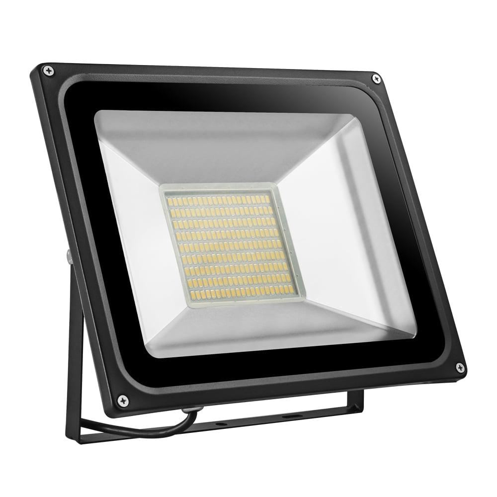 100W Watts LED Flood Light Cool//Warm White Outdoor Spotlight Security Lamp 110V