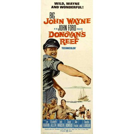 - Donovan's Reef POSTER Movie Insert A (14x36)