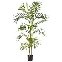 4' Areca Palm Silk Tree
