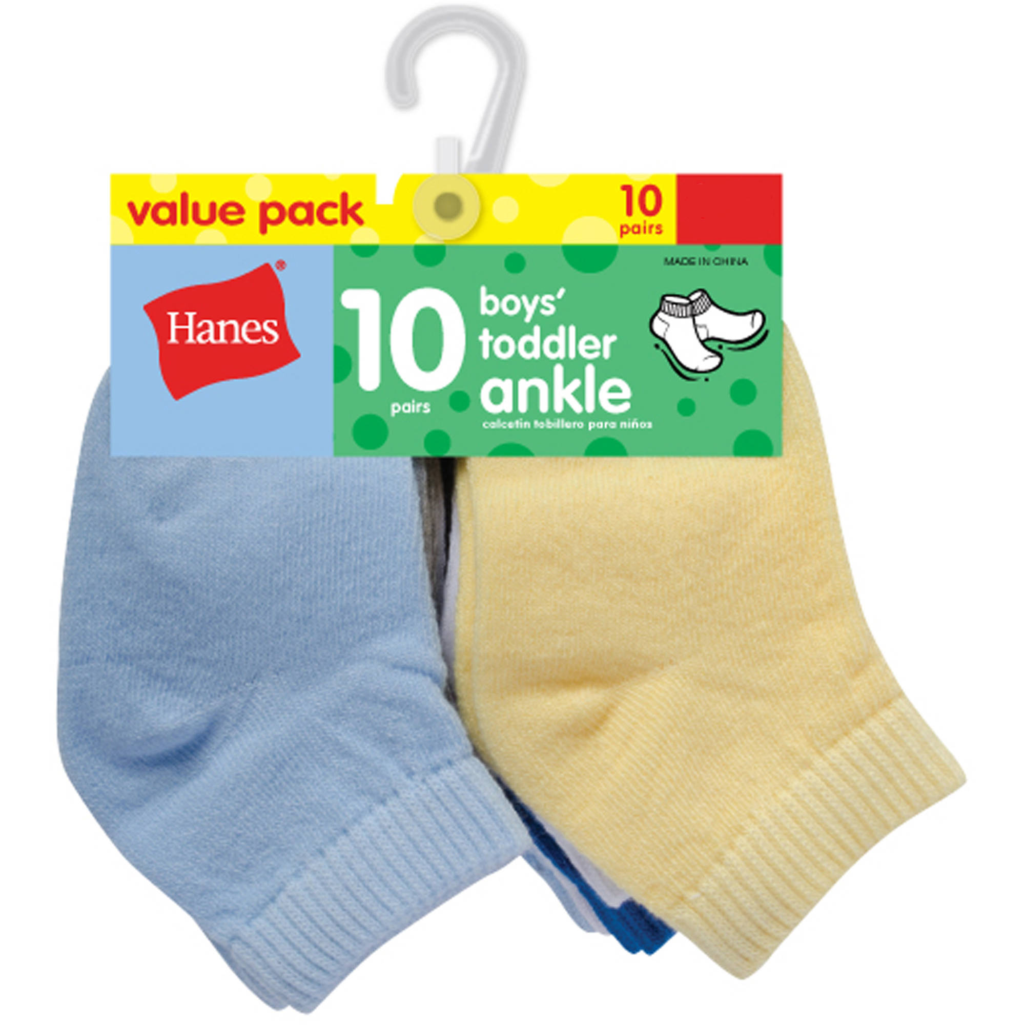Hanes Newborn Baby Boy Ankle Socks - 10 Pack
