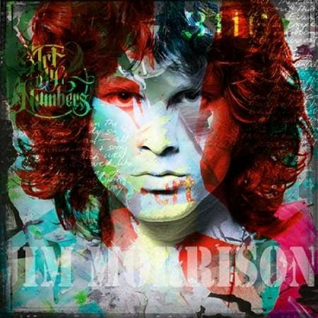 Jim Morrison Poster Print by Micha Baker