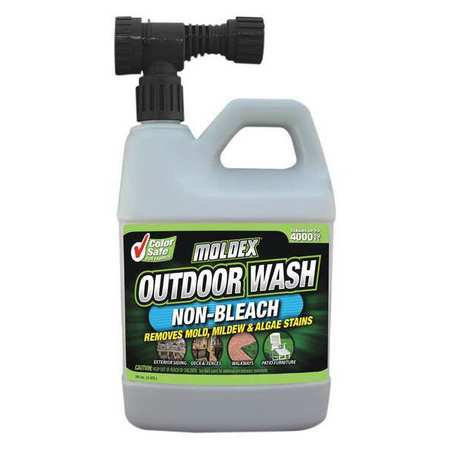 MOLDEX Outdoor Mold and Mildew Wash,Spray,56oz. 5330 ()