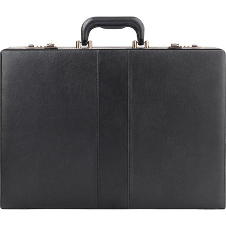 Solo, USLK854, US Luggage Classic Expandable Attache Case, 4, Black