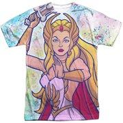 She Ra - Title (Front/Back Print) - Short Sleeve Shirt - XXX-Large