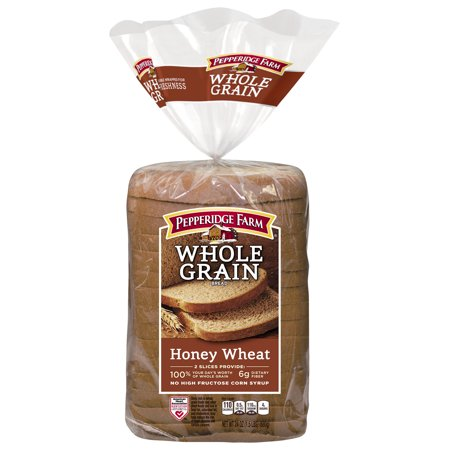Pepperidge Farm Whole Grain Honey Wheat Bread 24oz - Walmart.com