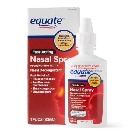 Equate Fast-Acting Nasal Spray, 1 fl oz