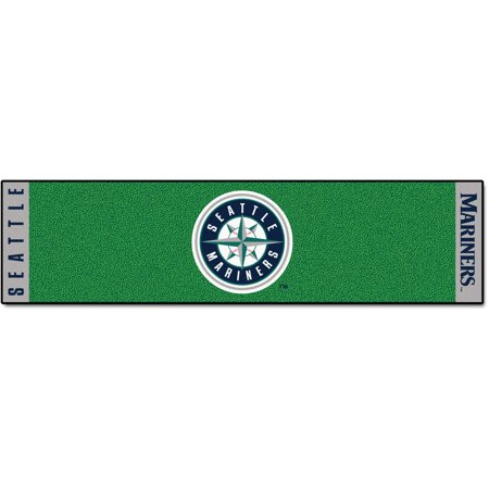 FanMats MLB Seattle Mariners Putting Green Mat