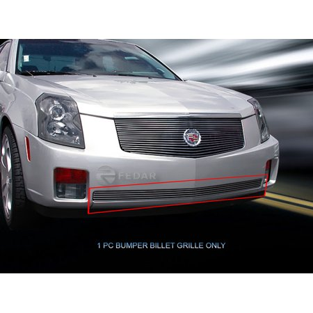 Fedar Lower Bumper Billet Grille For 2003-2007 Cadillac CTS