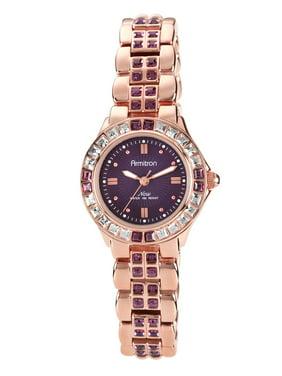 Armitron Women's Swarovski Crystal Accented Watches
