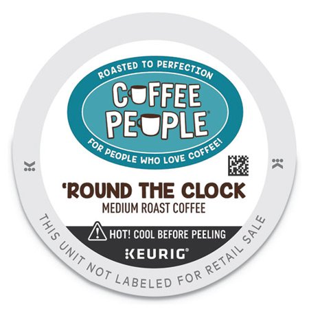 Coffee People® ROUND THE CLOCK BLEND K-CUP,