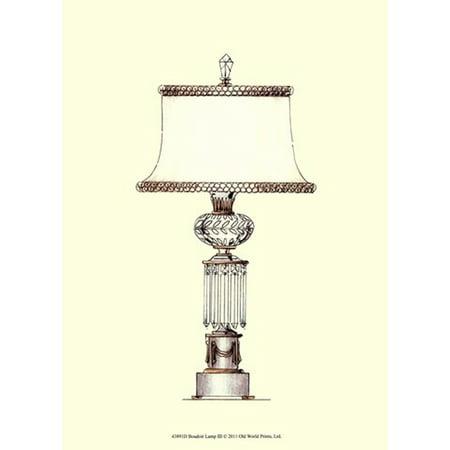 Boudoir Lamp III Poster Print (10 x 13) - Halloween Boudoir